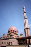 La moschea di Putra Fotografia Stock Libera da Diritti