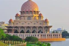 La moschea di putra, Malesia Fotografia Stock
