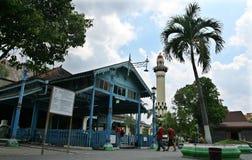 La moschea di Surakarta, Java Indonesia centrale è stata completata nel 1768 da Pakubuwono III, immagini stock