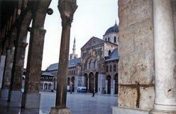 La moschea di Umayyad Immagini Stock