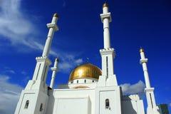 La moschea ed il cielo, il desiderio per Dio Fotografia Stock