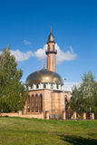 La moschea nella città di Nižnekamsk (Tatarstan, Russia) Immagine Stock