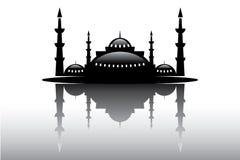 La mosquée bienvenue et le vecteur de Ramadan ont ouvré la conception Photographie stock libre de droits