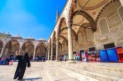 La mosquée bleue photo libre de droits