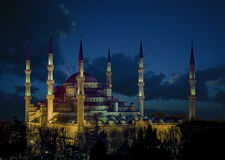 La mosquée bleue photos libres de droits