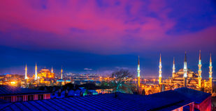 La mosquée bleue, Istanbul, Turquie. photos libres de droits