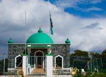 la mosquée d'île robben Image stock