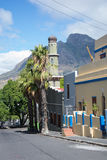 La mosquée d'Auwal en BO-Kaap, Cape Town Images libres de droits