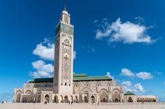 La mosquée de Hassan II est une mosquée à Casablanca, Maroc photos stock