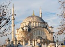 La mosquée de Nuruosmaniye à Istanbul image stock