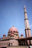 La mosquée de Putra Photographie stock libre de droits