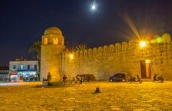 La mosquée de soirée Images stock