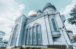 La mosquée grande de cathédrale à Moscou Photo libre de droits