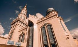 La mosquée grande de cathédrale à Moscou Photographie stock libre de droits