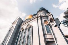 La mosquée grande de cathédrale à Moscou Photographie stock