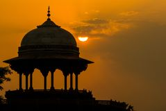 La mosquée Kau Ban près de Taj Mahal photos libres de droits