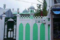 La mosquée musulmane en capitale de Rodrigues est port Mathurin image libre de droits