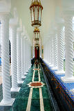 la mosquée Omar d'ali saifuddien Image stock