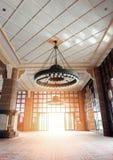 La mosquée ou le Masjid Putra de Putra ; la mosquée principale de Putrajaya, Malaisie Image stock