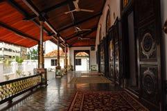 La mosquée ou le Masjid Tengkera de Tranquerah Photos stock