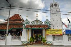 La mosquée ou le Masjid Tengkera de Tranquerah Images stock