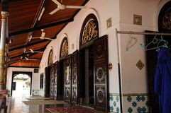 La mosquée ou le Masjid Tengkera de Tranquerah Photo stock