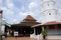 La mosquée ou le Masjid Tengkera de Tranquerah Image libre de droits