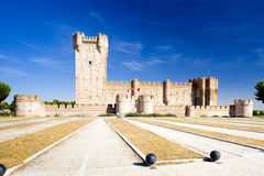 La Mota Castle Royalty Free Stock Photos