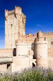 La Mota Castle. Medina del Campo, Valladolid Province, Castile and Leon, Spain Stock Image