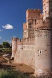 La Mota castle Stock Photography