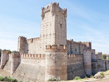 La Mota -castle in Medina del Campo, C Royalty Free Stock Images
