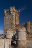 La Mota Castle, Valladolid. Sp Royalty Free Stock Image