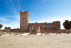 La Mota castle, Valladolid, Spain Royalty Free Stock Images