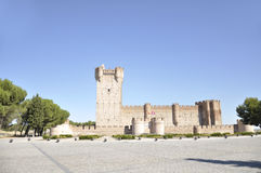 La Mota Castle (Valladolid, Spain) Royalty Free Stock Images