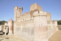 La Mota Castle (Valladolid, Spain) Stock Images