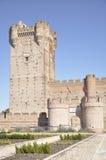 La Mota Castle (Valladolid, Spain) Stock Image