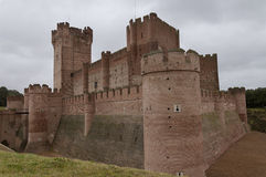 La Mota Castle (Valladolid, Spanien) royaltyfri foto