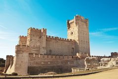 La Mota - old castle, Medina del Campo Spain Stock Photography