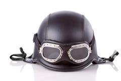 la moto de casque d'armée nous dénomment Image libre de droits