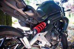 La moto de l'amortisseur Photographie stock