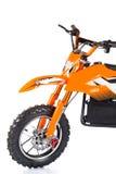 La moto eléctrica de los niños Fotografía de archivo