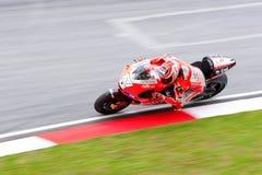 La motocicleta malasia Prix magnífico 2011 Fotos de archivo libres de regalías