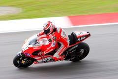 La motocicleta malasia Prix magnífico 2011 Fotografía de archivo