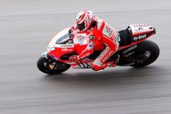 La motocicleta malasia Prix magnífico 2011 Imágenes de archivo libres de regalías