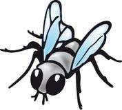 La mouche domestique Image libre de droits