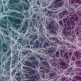 La mousse abstraite organique mystique ondule le fond Images stock