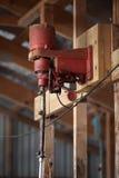 La máquina de corte en esquileos vertió Fotografía de archivo