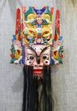 La máscara del emperador chino del cielo Imagen de archivo