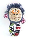 La muñeca de trapo divertida imagen de archivo libre de regalías