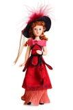 Muñeca en el estilo del Victorian Imagenes de archivo